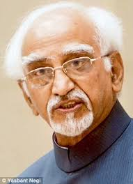 Vice President of India Shri M. Hamid Ansari