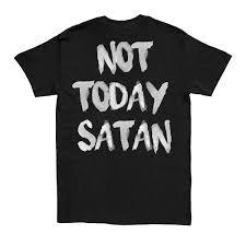 HGA <b>Not Today Satan</b> Black Tee – Native Supply