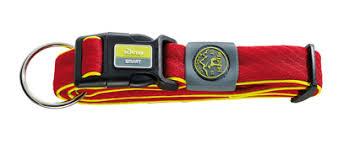 <b>Hunter ошейник</b> для собак <b>Maui</b>, сетчатый текстиль, красный