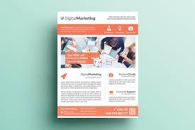 creative marketing flyer v15 flyer templates on creative market