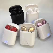 <b>I7 I7S TWS</b> Bluetooth Headphones <b>Wireless</b> Earbuds Portable ...