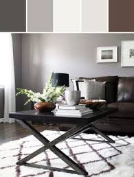 gray wall brown furniture. living room with gray walls brown couch pinterest rooms and wall furniture i