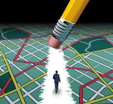 career planning product tags careerblueprint innovative path and road to success concept as a businessman walking through a confusing highway map