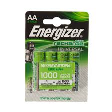 Аккумулятор <b>Energizer</b> Univ NH15 BP4 Pre-Ch 1300 мА/ч, 2 шт. в ...