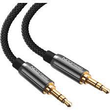 MK-MK957: <b>audio</b> cable, 3.5 mm stereo <b>jack</b>, <b>nylon</b>, <b>1.5 m</b> at reichelt ...