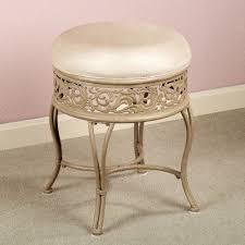 inspiration bathroom vanity chairs: beautiful vanity stool ideas for your bathroom adorable vanetta backless vanity stool in beige color
