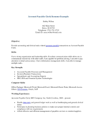clerk resume administrative clerk resume