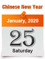 Chinese New Year 2020 Dates: January 25, CNY Calendar 1930 ...