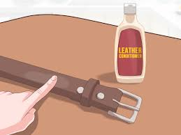 3 Ways to Soften a <b>Leather Belt</b> - wikiHow