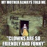 Scary clown Meme Generator - Imgflip via Relatably.com