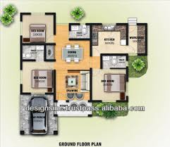 three bedroom home  sweet home d draw floor plans and arrange    Home d Design Home Planning And Designing In d Views Buy d House Planhouse Collection