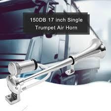 Universal 17inch Single <b>Trumpet Car Air</b> Horn 12V Compressor ...