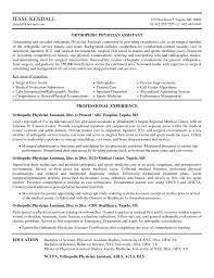 orthopedic assistant resume s assistant lewesmr sample resume surgeon resume orthopedic physician assistant