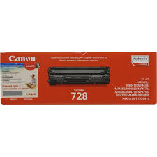 Оригинальный <b>картридж Canon</b> Cartridge 728 Черный (Black ...