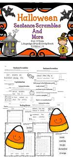 best images about activities for halloween halloween sentence scrambles and more