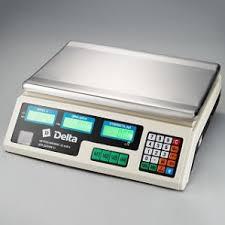 <b>Весы</b> электронные торговые настольные <b>Delta</b> до 40кг <b>ТВН</b>-<b>40</b> ...