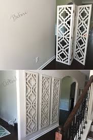 chic large wall decorations living room: room divider from hobby lobby large wall art easy cheap project