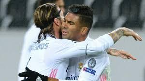 Borussia Monchengladbach 2-2 <b>Real Madrid</b>: Real score two late ...