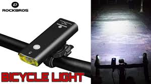 <b>ROCKBROS</b> Rechargeable <b>Bicycle Light</b> Cycling Riding Flashlight ...