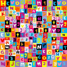 ᐈ Colorful <b>letters</b> stock vectors, Royalty Free colored <b>letters</b> ...