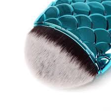1pcs fish shape makeup brush foundation powder blush contour highlighter make up brushes tools pinceis maquiagem
