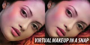 virtual makeup in a snap