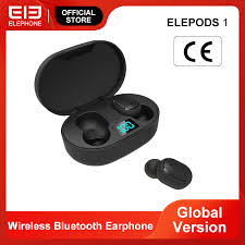 <b>ELEPHONE ELEPODS 1</b> TWS Earphone LED Display Wireless ...