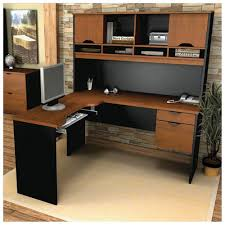 home office desk hutch. brilliant corner office desk with hutch workstation white ironstone throughout inspiration home u