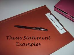 thesis statement examples thesis notes thesis statement examples