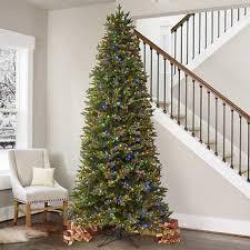 9' Pre-Lit Micro LED <b>Slim</b> Artificial <b>Christmas Tree</b>