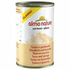 <b>Консервы Almo Nature Classic</b> для Кошек с Тунцом и Креветками ...
