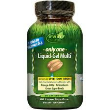 Irwin Naturals Irwin Naturals <b>Only One Liquid-Gel Multi</b>, 60 ea ...