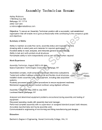 assembly technician resume jobs christmas palm tree cover letter cover letter assembly technician resume jobs christmas palm treesample electronic assembler resume