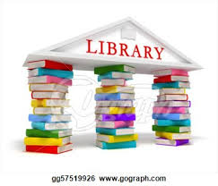 Image result for animated 3D  library clipart