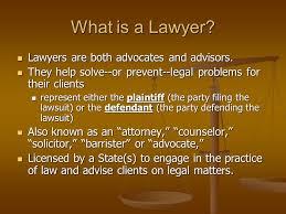 Lawyers & Advocates