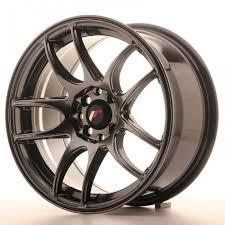 et28 Jante aluminium Japan Racing JR29 16x8 ET28 Hyper Black ...