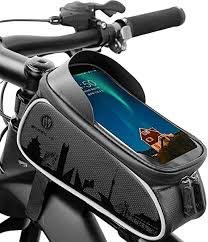 GAYISIC <b>Bike Bag</b>, <b>Bicycle Bag Waterproof Bike</b> Frame <b>Bag</b> with ...