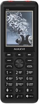 Мобильный <b>телефон Maxvi</b> P20 Black/Red - купить кнопочный ...