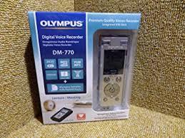 <b>Olympus DM</b>‑<b>770</b> Digital Voice Recorder: Amazon.co.uk: Office ...