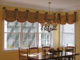 swag curtains contemporary