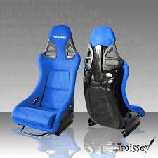 ad911 redblueblack suede recaro fprcarbon fiber honda recaro seat office