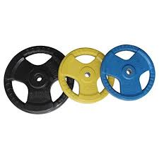 Buy Energie Fitness Weight Plates Rubber Coated 60 KG (<b>1 pair</b> - <b>2</b> ...