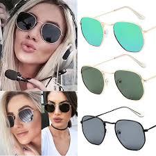 <b>1 Pcs Women Lady</b> Sunglasses Metal <b>Frame</b> HD Lens Vintage for ...