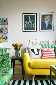 hello yellow this summer add a pop of yellow to your home decor palette yellow sofa living roombright bright yellow sofa living