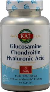 Kal Glucosamine Chondroitin Hyaluronic Acid, 90 ... - Food 4 Less