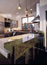 concrete countertop kitchen contemporary amazing ideas with rustic wood cabinets light wood cabinets amazing light wood
