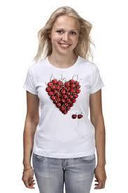 """Женские футболки c стильными принтами """"Любовь"""" - <b>Printio</b>"""