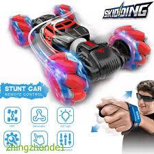 1:16 4WD RC Stunt Car Watch Control <b>Deformable</b> Gesture ...
