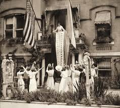 suffrage badass in chief alice paul leading celebration of 19th amendment