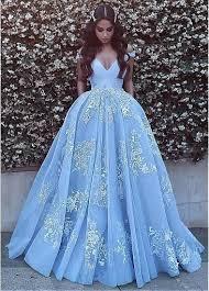<b>Blue</b> Prom Dresses,Appliques Prom Dress,Gorgeous Prom Dresses ...